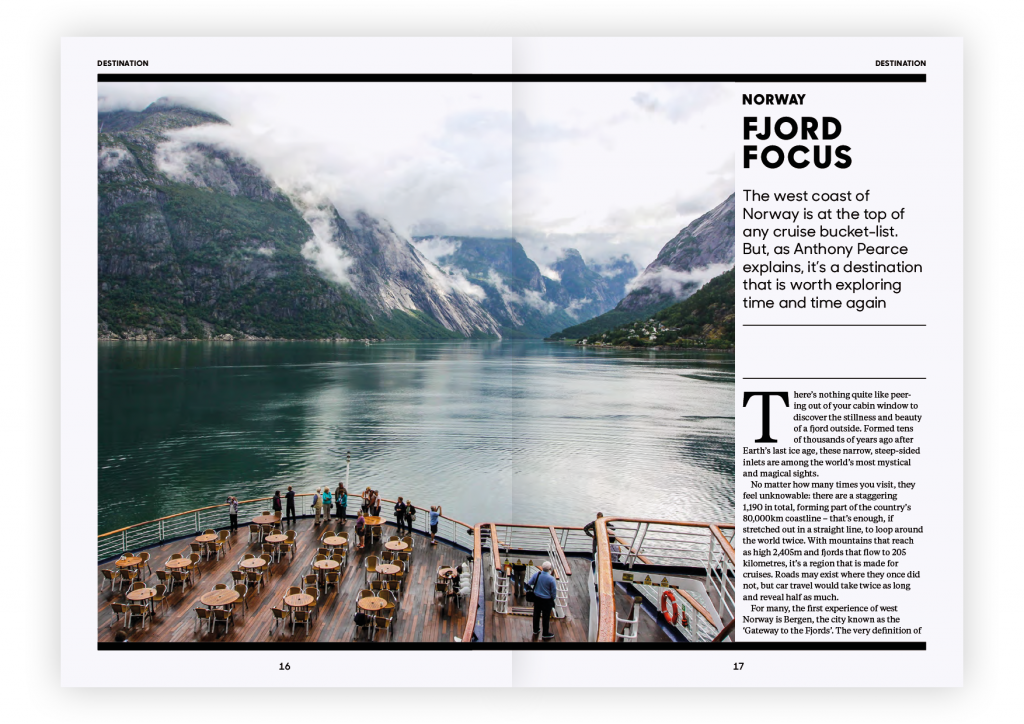 Globe Issue One – Norwegian Fjords