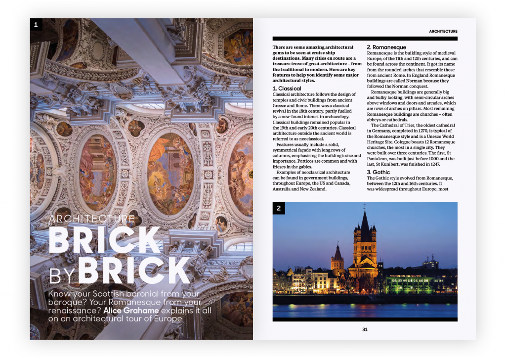 Globe Issue One –Brick by Brick Feature